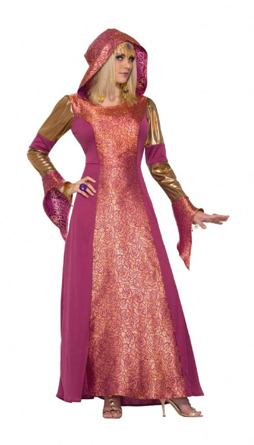 Ladies Arabian Queen Costume Arab Prince Aladdin Fancy Dress Outfit